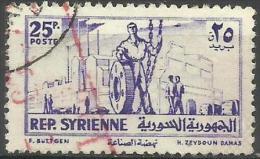 1954 Industry 25p  SG 535  Sc 385 - Siria