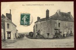 Cpa  Du 53  Torcé En Charnie Route De Voutré ...  Sainte Suzanne  LAM18 - Sainte Suzanne