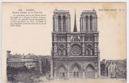France - Paris - Notre Dame Et Le Parvis - Notre Dame De Paris