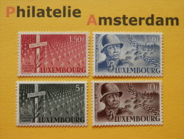 Luxembourg 1947, GEORGE PATTON: Mi 423-26, ** - Ongebruikt