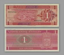 Netherlands Antilles 1 Gulden 1970. South America Banknotes. UNC. 1PCS. - Pays-Bas