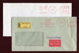 Österreich, Austria, 1985/87  2x Freistempel - Poststempel - Freistempel