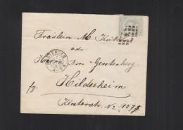 Brief 1893 Amsterdam Hildesheim - Periode 1891-1948 (Wilhelmina)