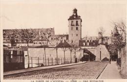 LE STRASBOURG DISPARU - LA PORTE DE L´HÖPITAL 1890 - Strasbourg