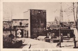 LE STRASBOURG DISPARU - PORTE DES PÊCHEURS 1868 - Strasbourg