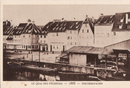 LE STRASBOURG DISPARU - LE QUAI DES PÊCHEURS 1868 - Strasbourg