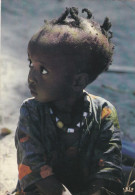 Ex Afrique Coloniale, Afrique Occidentale Française,Sénégal,enfant Innocent,tresses,collier, Curieuse,joie De Vivre - Sénégal