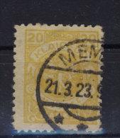 Memel Michel No. 142 gestempelt used