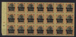 Deutsche Post Belgien Michel No. 21 ** postfrisch Bogenteil