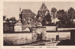 LE STRASBOURG DISPARU - PORTE NATIONALE 1865 - Strasbourg