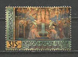 Hungary 2013.  Korosfoi-Kriesch Aladar Painter Art MNH** - Hungary