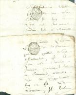 12 Scans , Lot  Documents ( 12) , Avec Cachets De Généralité, Paris  Tours , Preuilly , Loches , 18è Et 19è - Pho154 - Seals Of Generality