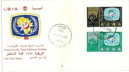 LIBIA - LIBYA - FDC - 1969 International African Tourism Year - Libya