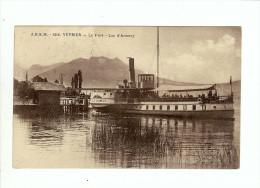 VEYRIER - Le Port - Lac D'Annecy Et Un Bateau - Veyrier