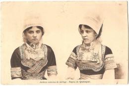 Dépt 29 - QUIMPER - Anciens Costumes De Mariage - Région De Quimper - Quimper