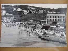 SIX FOURS La Plage  (Corniche Solviou Où Se Situe Actuellement Le Rond Point Du Traité De L'Elysée) - Six-Fours-les-Plages