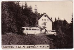 """Postcard - Slovenia, Pohorski Dom """"M. Zidanšek""""    (13885) - Slovénie"""