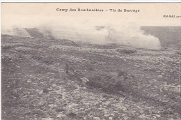 23403 Camp Des Bombardiers -tir De Barrage -visa Paris 98?7 Tampon Peltier Grenadier - Guerre 1914-18