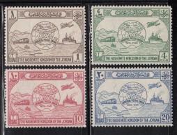 Jordan MH Scott #245-#248 Centenary Of Universal Postal Union - Jordanie