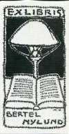 Ex Libris B. Nilund 1917/1994 - Ex Libris