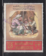Jordan Used Scott #574Dc 23f The Tragedy And The Plight Of The Refugees - Jordanie