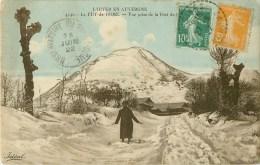 63 - Le Puy De Dome - Hiver Vue  Prise De La Fond De L'arbre - Autres Communes