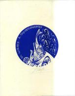 Ex Libris A. Tamborrino - V. Herta 1995 Moldavia - Ex-libris