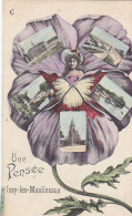 23409 ISSY Les MOULINEAUX - Une Pensée De. Ed  G I  Multi Vues - Issy Les Moulineaux