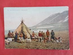 > Greenland Eskimo Village  Ca 1910   Ref 1239 - Greenland