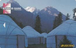 KYRGYZSTAN(Alcatel) - Kramds Bank/Igloos, First Issue 10 Units, Used - Kyrgyzstan