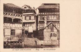 LE STRASBOURG DISPARU - AU BAIN AUX PLANTES 1859 - Strasbourg