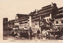 LE STRASBOURG DISPARU - TANNERIES AU BAIN-AUX-PLANTES 1855 - Strasbourg