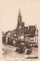 LE STRASBOURG DISPARU - PLACE DU CORBEAU 1860 - Strasbourg