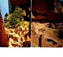 MESA VERDE LONG HOUSE WETHERHILL        LOT DE 3 CARTES 1976 - Mesa Verde