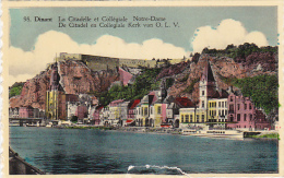 Belgium Dinant La Citadelle et Collegiale Notre Dame