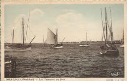 56 PORT LOUIS Les Thonniers Au Port - Port Louis