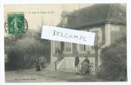 CPA - Dompierre - Le Café Du Chemin De Fer - Unclassified