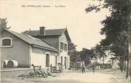 36  CHAILLAC - LA GARE  ( AUTOMOBILE ) - France