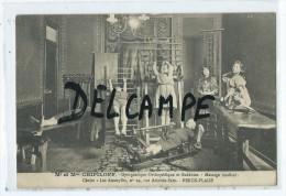 CPA - Berck Plage - Mr Et Mme Chipiloff - Gymnastique-orthopédique Et Suédoise- Massage Medical - Berck
