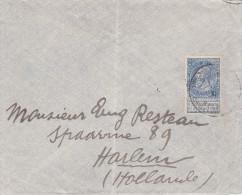 A27 - Enveloppe - Cob 50 - Harlem Hollande 1915 - Cachet Du Facteur N° 7 - Belgique