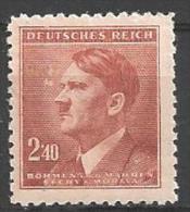 1942 2.40k Hitler, Mint Light Hinged - Unused Stamps