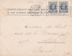 A27 - Enveloppe De 19 Cob 2x 193 - Belgique