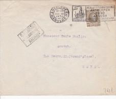 A27 - Enveloppe De 1930 - Courrier D'avocat Avec Flamme Anvers - Cob 255 - Belgique