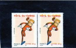 TIMBRES  VARIETE  DECALAGE  HOR   DU  JAUNE (FACIALE DEDOUBLEE)   DE 2006   NEUF** N°3864c  DE  MAURY - Non Classificati