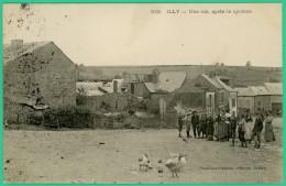 Ardennes -  Illy - Une Rue Après Le Cyclone    -  Animée - Sedan