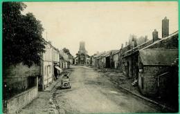Ardennes -   Balan - Sedan - Rue De L'Eglise    -  Animée - Sedan