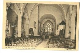 37   Tauxigny     Interieur De L´ Eglise - Otros Municipios