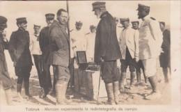 Tobruk, Libia. - Guglielmo Marconi Esperimenta La Radiotelegrafia Da Campo - Non Viagg. F.P. - History