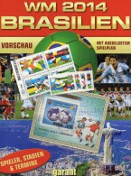 FIFA Sheets+100 Stamps Fußball WM 2014 Buch Brasilien 2264/7+Mongolia Block A89 **/o 235€ Spanien 1982 AD Italy Champion - Sport