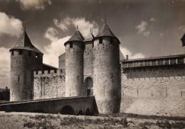 Carcassonne (Aude)  - La Cité  - Château Comtal  - Porte Orientale Et Tour Saint-Paul - Castles